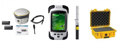 GNSS rover Trimble R2, kontroler LT30, software SurvCE