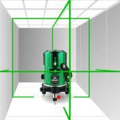 Křížový laser RY-M151H, kompenzátor, zelený paprsek, 360 stupňů, přesnost 1mm