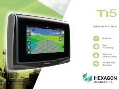 Leica Ti5 - satelitní GNSS navigace pro přesné zemědělství - GPS/GLONASS