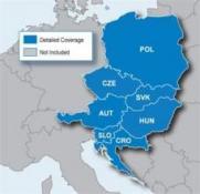 Uliční mapa Severozápad východní Evropy CityNavigator® NT Europe